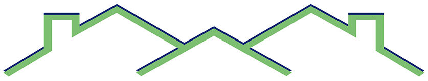 Home inspection roofs logo